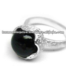 Fashionable sterling silver ring settings