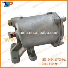 MTZ/Belarus Tractor Fuel Filter,Filter housing 240-1117010-A