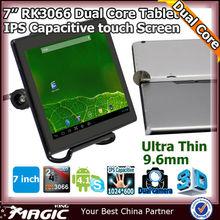 "7"" Android 4.1 aluminium case dual core tablet ips pc"