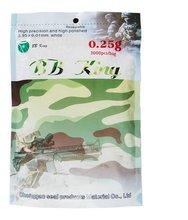 BB King softair 0.25g,airsoft bb bullet 6mm