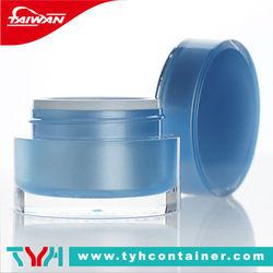 (DT.KN) 15ml 30ml 50ml round luxury acrylic cosmetic jar