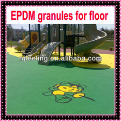 EPDM rubber flooring for children and home garden-FN-D-14122307