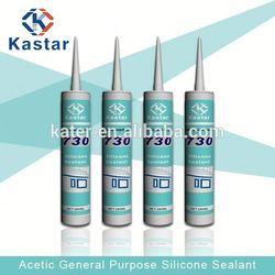 Silicone rubber sealants