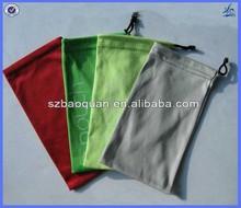 Fashion mobile phone pouch /microfiber pouch