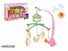 Remote Control Baby Mobiles Toys, Baby Bed Rattles, Baby Bell