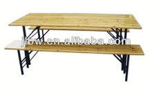 Garden Folding Teak Root Wood TableBeer Table And Bench Picnic Camping Party Garden Furniture Wooden Chair