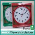 10 inç ucuz plastik duvar saatleri/duvara toptan saatler/guangzhou