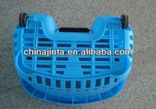shopping rattan and wire fruit basket