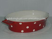 chaozhou hand-painted microwave safe 100% food grade ceramic wholesale unique unique ktchenware bakeware cheap bakeware
