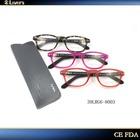 Smart & elegant TR 90 mixed material latest reading glasses 39LRG6-8003
