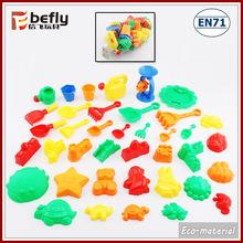 39 PCS sand mold small plastic toys