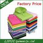 Fashion design cotton polyester polo shirt