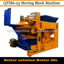 coal ash brick making machine QTM6-25 DONGYUE