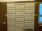 fiberglass acoustic ceiling board/595*595 mm/interior decorative wall panel
