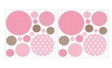 Art-U-Stick Adhesive Dots on Dots Wall Stickers