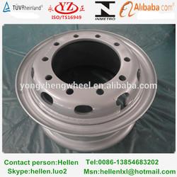 10 hole used STR heavy duty truck wheels