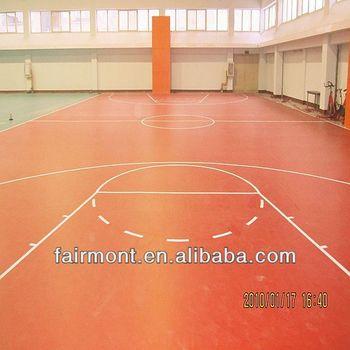 Pvc Basketball Floor,Pollution-Free, Fire Resistance LK--001