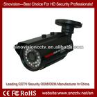 1200TVL DVR box A8201B aluminium IP Water proof Bullet IR LED CCTV camera case,camera housing( Popular)