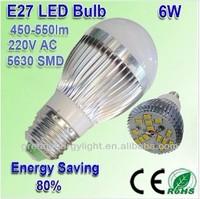 e27 led AC 85v--265V warm white optional lumens 450lm--500Lm GU10/E2750 phlatlight led,tungsram lamp