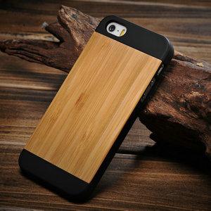 Original wood hard case for iphone 5, bamboo case for iphone 5 5s, for iphone5 cases cover