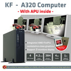 KF A320 AMD apu 8Gb ddr3 Professional graphic design Desktop Computer