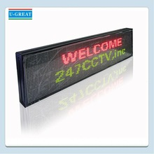 Alibaba fr WIFI wholesale high beightness message moving led red-color sign boards