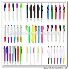 Low MOQ plastic cheap promotional pen
