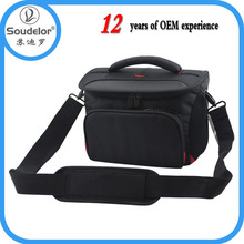Trendy manufacture fashion nylon digital camera bag