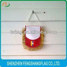 heat transfer printing mini soccer team pennant flag