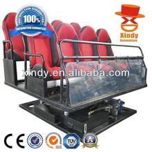 2014 the Hottest Theme Park Equipment 5D Theatre 6d cinema simulator
