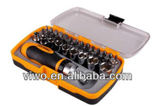Socket set and screwdriver bits set