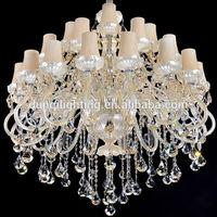 2015 Christmas light /6lights/8 lights/12 lights large big glass crystal chandelier