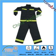 fire-fighter uniform/EN469/aramid outer fabric