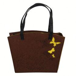 top popular cheap felt tote bag