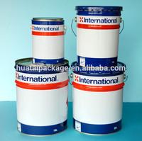 metal barrel, 12l bucket, paint tin container