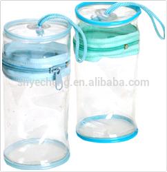 cheap high quality manufacturer of wholesale plastic clear zipper pvc cooler bag