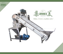 industry fruit and vegetable crusher with elevator