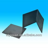 cd size dvd case 7.5mm black/slim black cd case