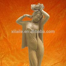 la calidad del hight africano abstracta de mujer gorda de arte de la escultura