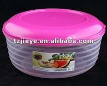 kitchen plastic food storage container with lid