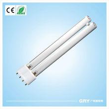 Hot sale!! Hot cathode quartz 4pins H Shape 185nm 253.7nm UV-C Lamp 36w 2G11 CE Certificate