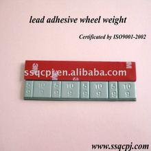 lead adhesive wheel weight
