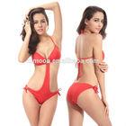 Wholesale Fashion Ringed center Sexy thong 2014 Sex one piece swimwear