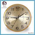"""12"""" นาฬิกาแขวนพลาสติกที่มีอลูมิเนียมสาย"""