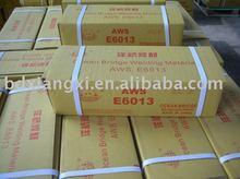carbon steel welding electrode stick rod AWS E6013 supply