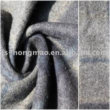 Checked Wool Garment Fabric