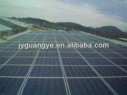 250W Black Monocrystalline solar panel with TUV MCS CEC