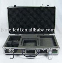 2015 New fashion design aluminum tool box with EVA lining