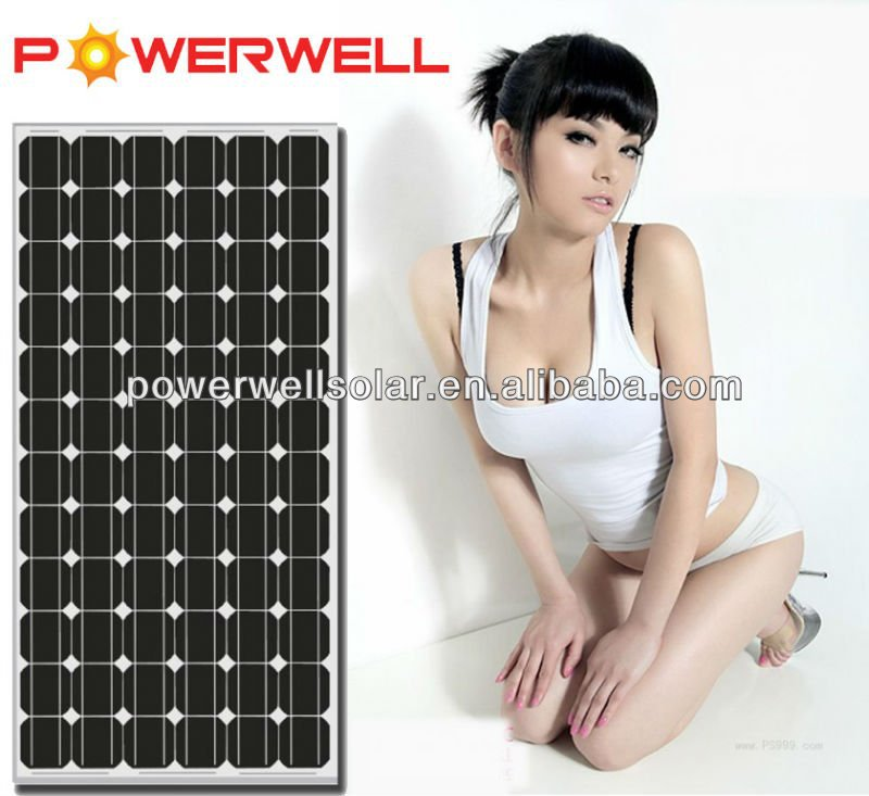 Powerwell Solar Super Quality & Competitive Price With CE,CEC,TUV,ISO,INMETRO Approval Standard Solar Panel