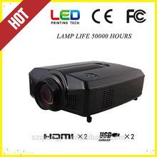 HDMI*2, USB*2, TV/DVB-T, AV,VGA,WIFI Mobile phone Android projector